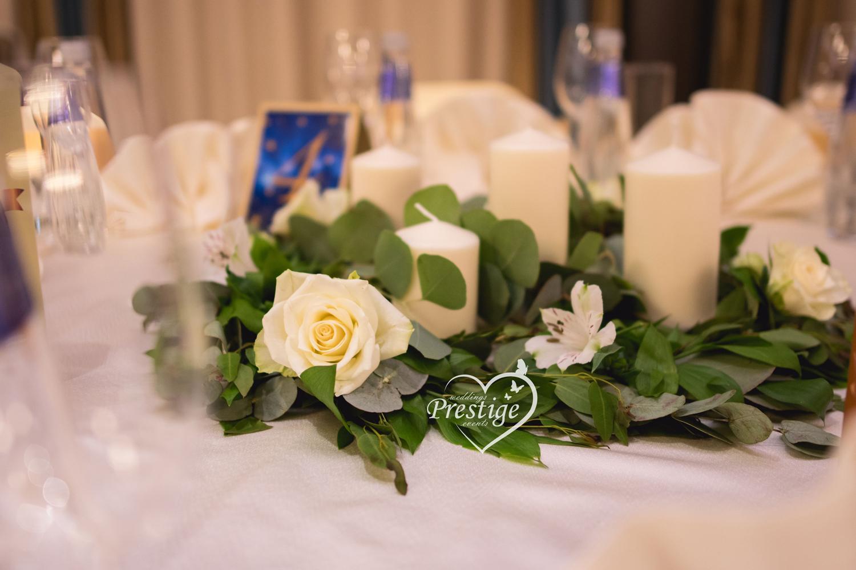 украса маса сватба