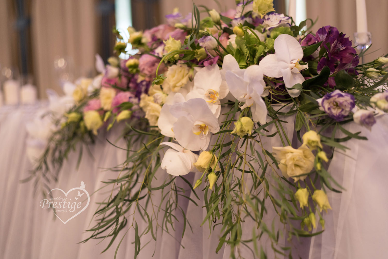 украса цветя сватба