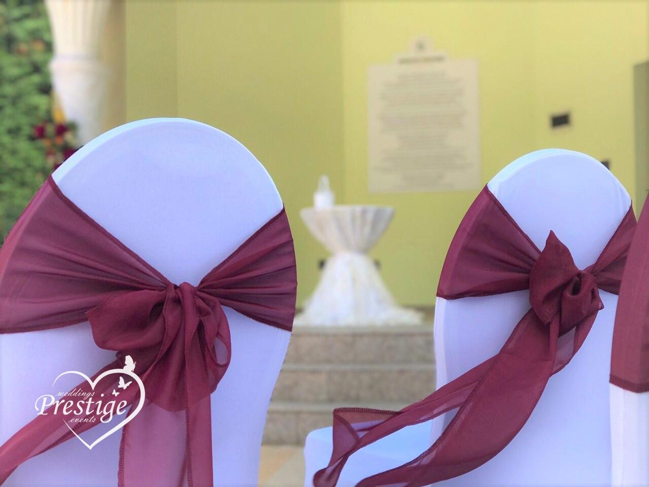 панделки сватба