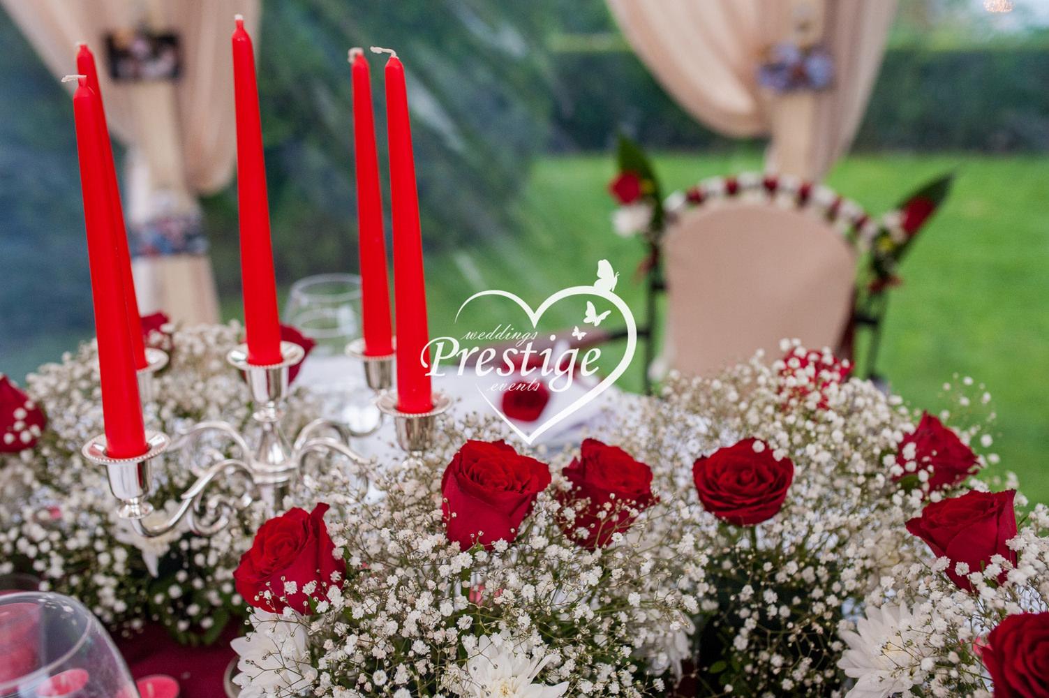 цветя сватба