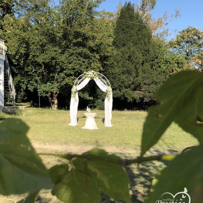 изнесен ритуал градина