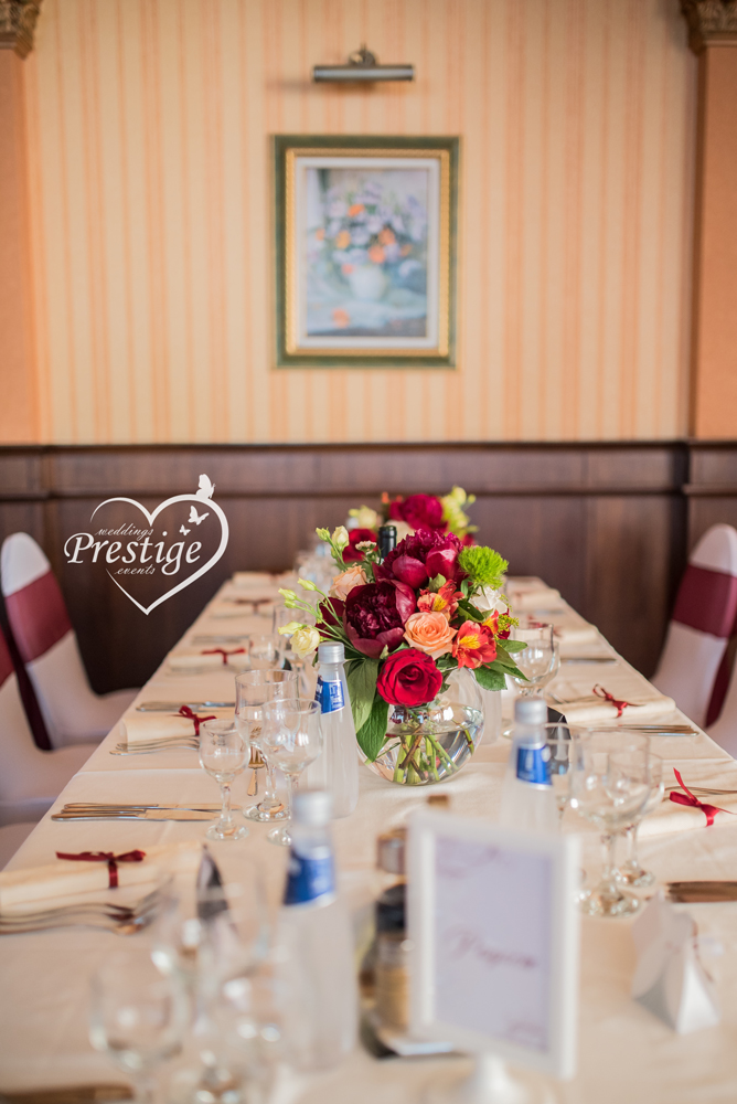 декор маса за сватба