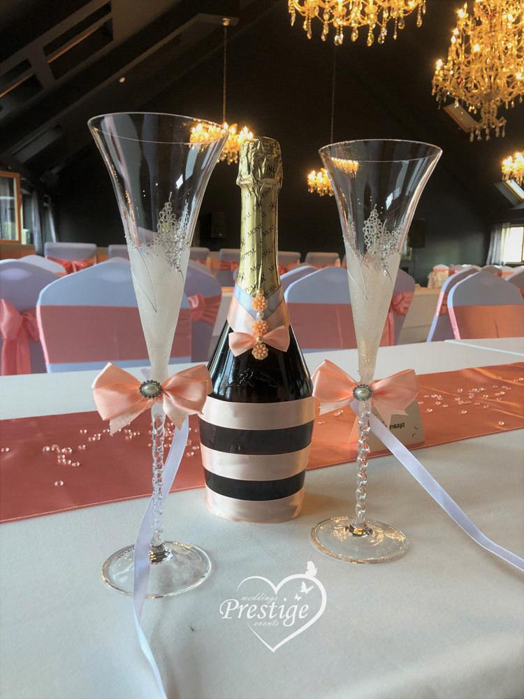 сватбен сет чаши варна